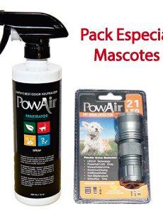 powair pack mascotes